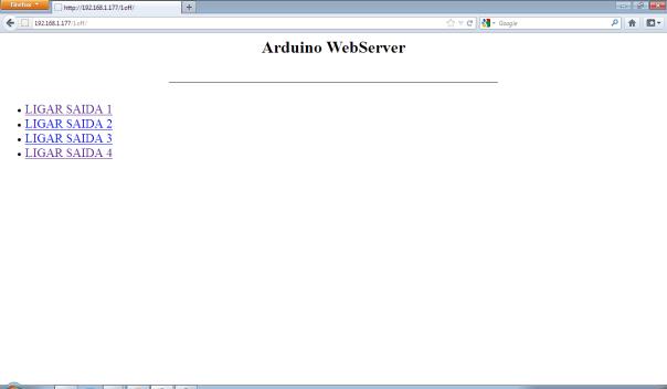arduino webserver1